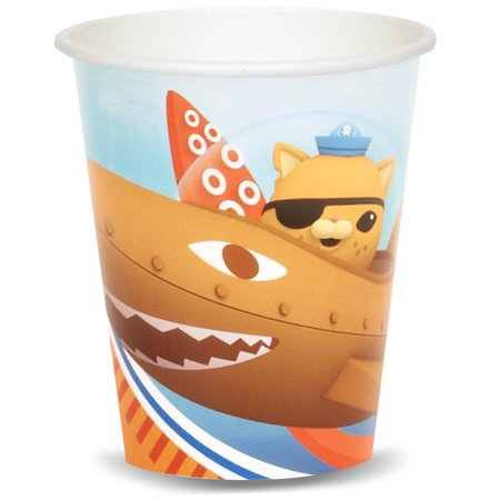 Octonauts Party Supplies 8 Pack Paper Cups