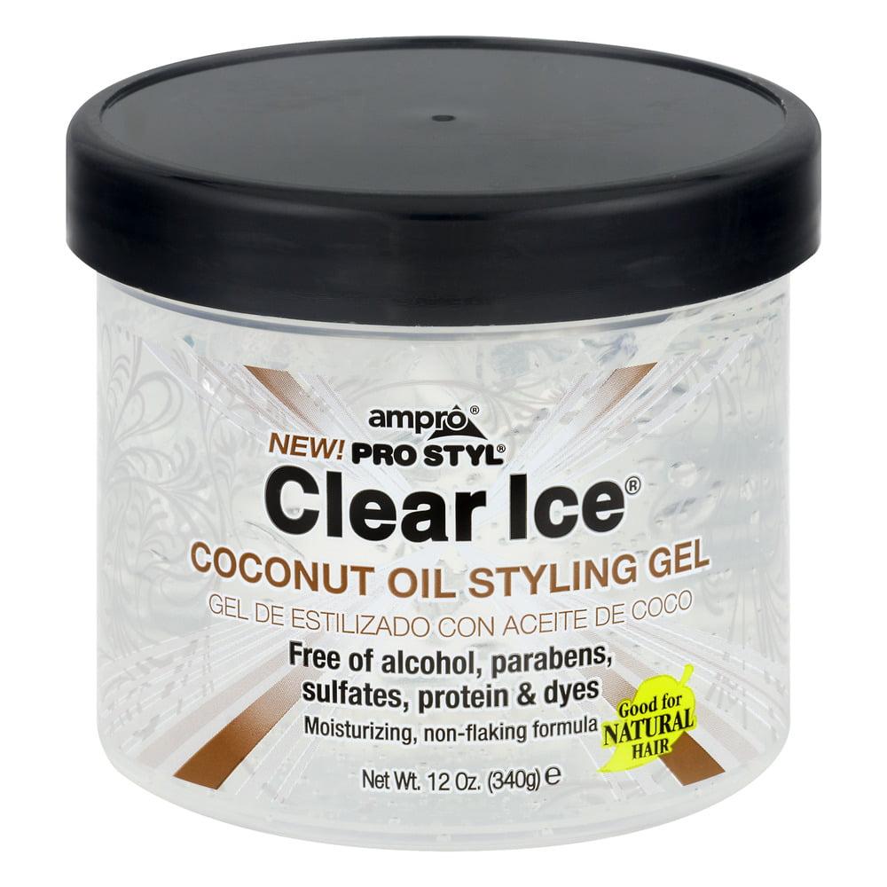 Pro Style Hair Gel Ampro Pro Styl Clear Ice Coconut Oil Styling Gel 12.0 Oz .