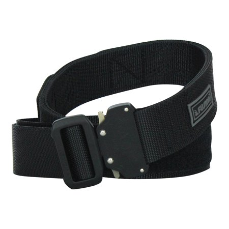 Fusion Tactical Military Police Shooters Belt Generation II Black Large 38-43