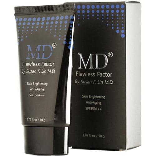 MD Flawless Skin Factor Skin Brightening Anti-Aging Cream, 1.76 fl oz