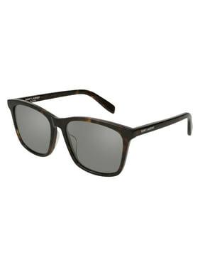 Saint Laurent Classic SL 205/K Sunglasses 002 Havana