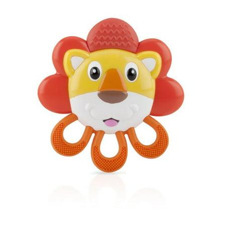 - Nuby Vibe-eez Animal Vibrating Teether, Character May Vary