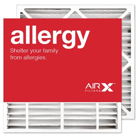 AIRx Filters Allergy 24x25x4 Replacement Air Filter MERV 11 for Bryant Carrier EXPXXFIL0024 EXPXXFIL0324 FILBBCAR0024 FILBBCAR0124 FILBBFTC0024, -