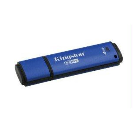 Kingston 4Gb Dtvp30av  256Bit Aes Encrypted Usb 3 0   Eset Av