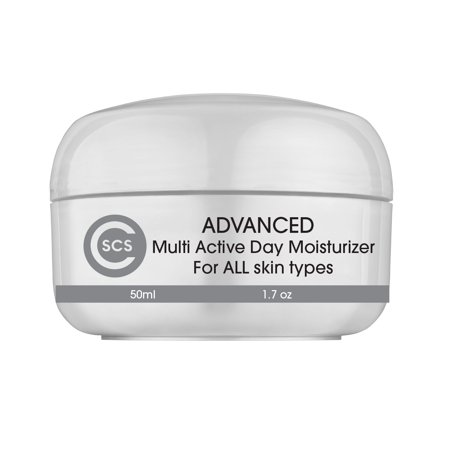 7257fe7da622 CSCS Advanced Multi Active Facial Day Cream - Anti Aging Retinol Face Cream  2.5% - With Retinol, Hyaluronic Acid and Vitamin C