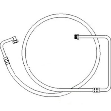 1267661C1 New Retainer Line to Compressor Made for Case-IH