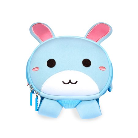 Rabbit Bag - Nohoo Neoprene Blue Rabbit Backpack Toddler Bag