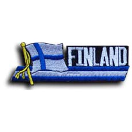 Finland Ribbons - Finland Cut-Out Patch