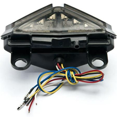 Kapsco Moto Smoke LED Tail Light Integrated with Turn Signals For 2008-2009 Ducati 848 / EVO / Corse SE - image 1 of 4