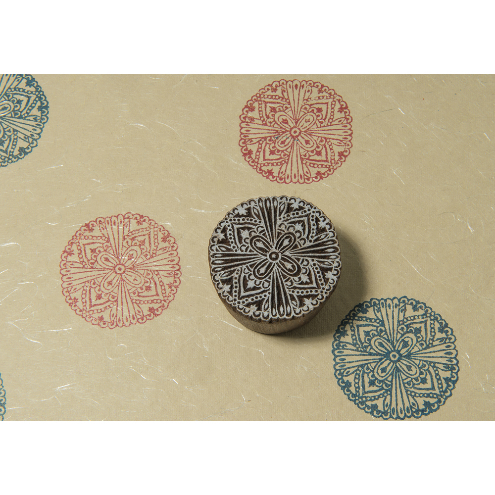 Blockwallah Block Stamp-Intricate Mandala