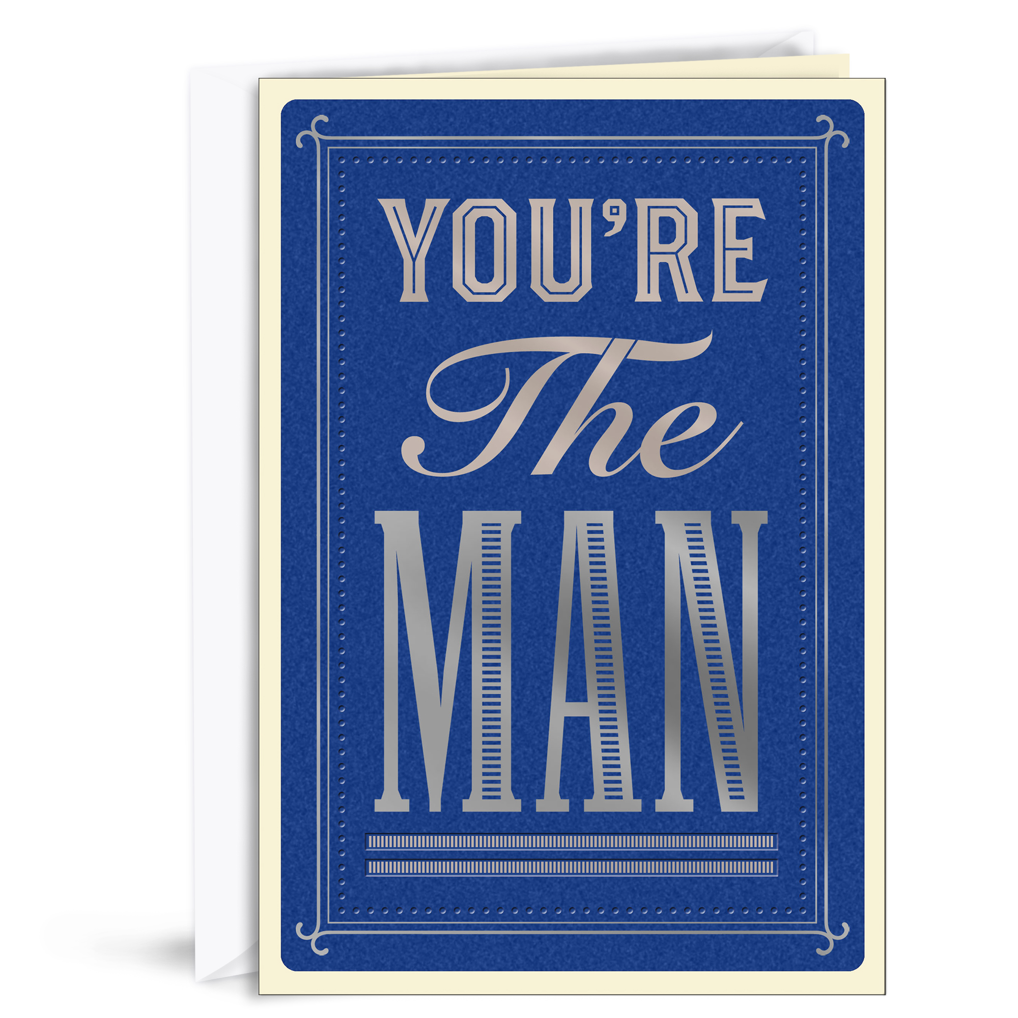 Hallmark, You're The Man, Father's Day Greeting Card