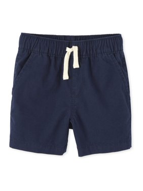The Children's Place Baby & Toddler Boy Solid Canvas Short
