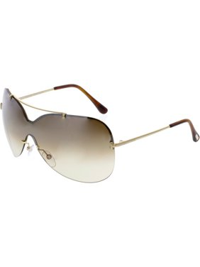 d98a141276c2 Product Image Tom Ford Women's Gradient Ondria FT0519-28F-00 Rose-Gold  Shield Sunglasses