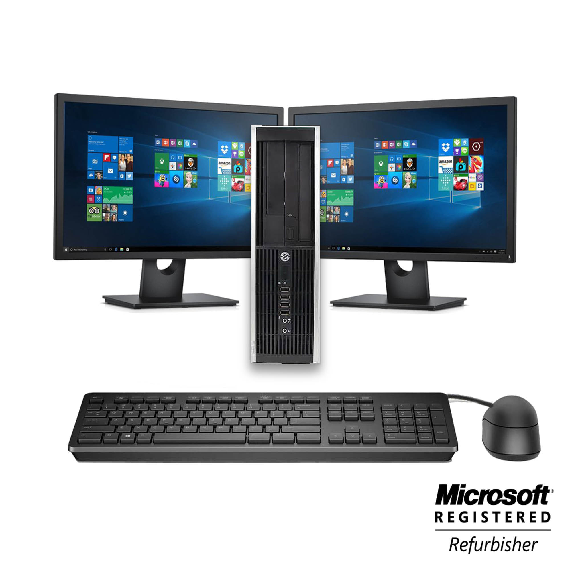 HP Desktop Computer 8000 Dual 19