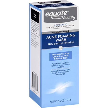 Equate Beauty Acne Foaming Wash, 5 5 oz
