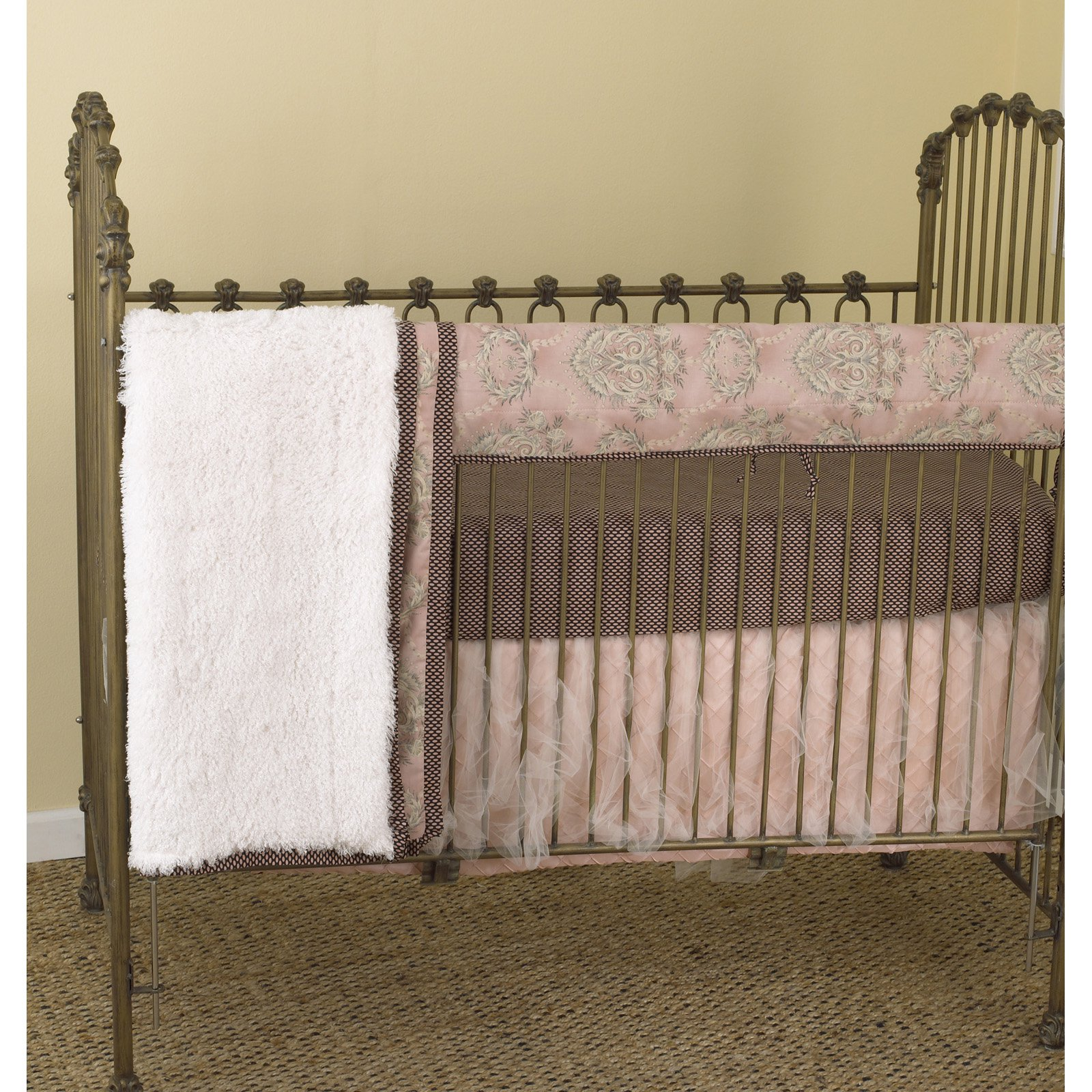Cotton Tale Designs Nightingale Front Crib Rail Cover Up Set