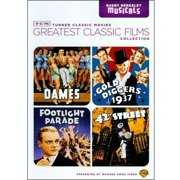 TCM Greatest Classic Films: Busby Berkeley Musicals 42nd Street   Gold Diggers Of 1937   Footlight Parade   Dames (Full... by TIME WARNER