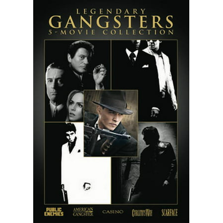 Legendary Gangsters 5-Movie Collection (DVD)