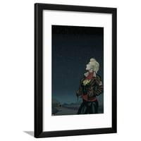 Captain Marvel No. 10: Ms. Marvel Framed Print Wall Art