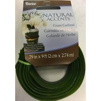 Floral Grass Garland Green 2Centimeters X 9Feet