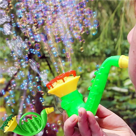 Tuscom Water Blowing Toys Bubble Soap Bubble Blower Outdoor Kids Child Toys](Bubbles Toys)