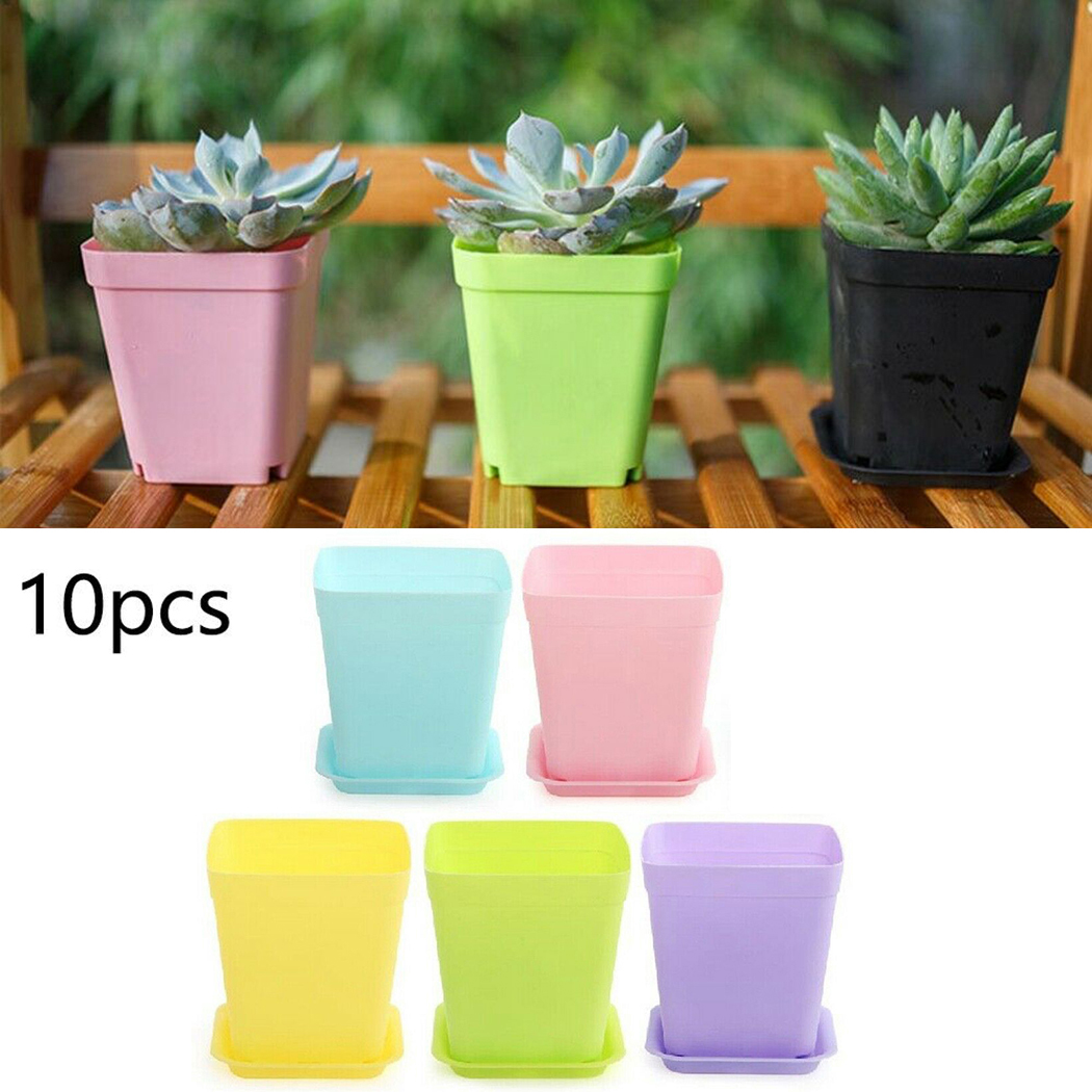 Office Succulent Nursery Vase Flower Pots Mini Basin Plant Decor Tray