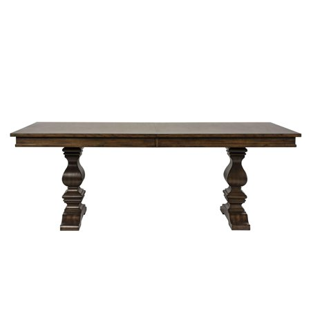 Antique Brownstone Finish Wood Dining Table 242-DR-TRS Liberty Furniture