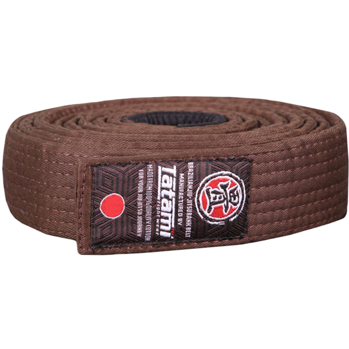 tatami fightwear bjj rank brown belt walmart