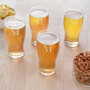 Personalized 19 oz. Craft Beer Pilsner Glasses Set of 4 by Cathy's Concepts