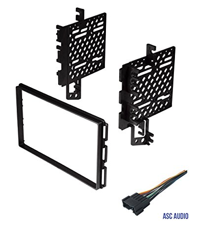 car stereo dash kit and wire harness for installing a double din rh walmart com
