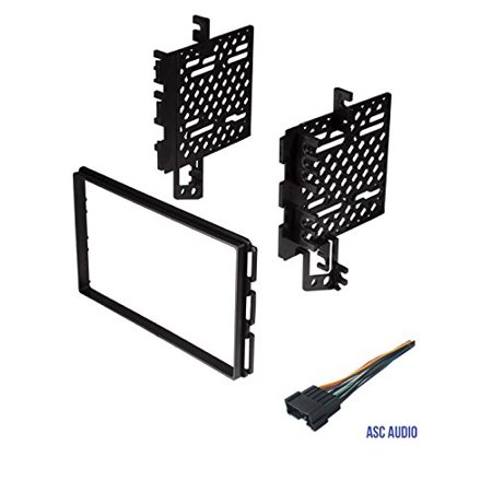 Car Stereo Dash Kit and Wire Harness for Installing a Double Din Radio on 2005 chrysler 300 wiring harness, 2005 chrysler crossfire wiring harness, 2001 dodge dakota wiring harness, 2010 jeep wrangler wiring harness, 2005 ford f250 wiring harness, 2006 dodge dakota wiring harness, 2005 chevy equinox wiring harness, 1996 dodge dakota wiring harness, 2003 hyundai elantra wiring harness, 2005 chevy impala wiring harness, 2008 hyundai santa fe wiring harness,