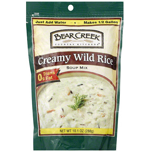 Bear Creek Creamy Wild Rice Soup Mix, 10.2 oz (Pack of 6)