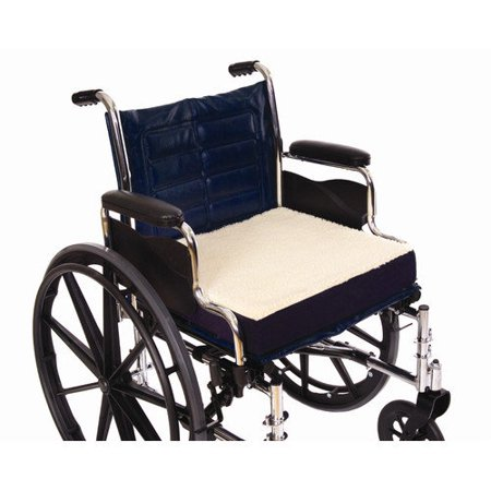 Fleece Covered Wheelchair Cushion 16 Quot X 16 Quot X 3