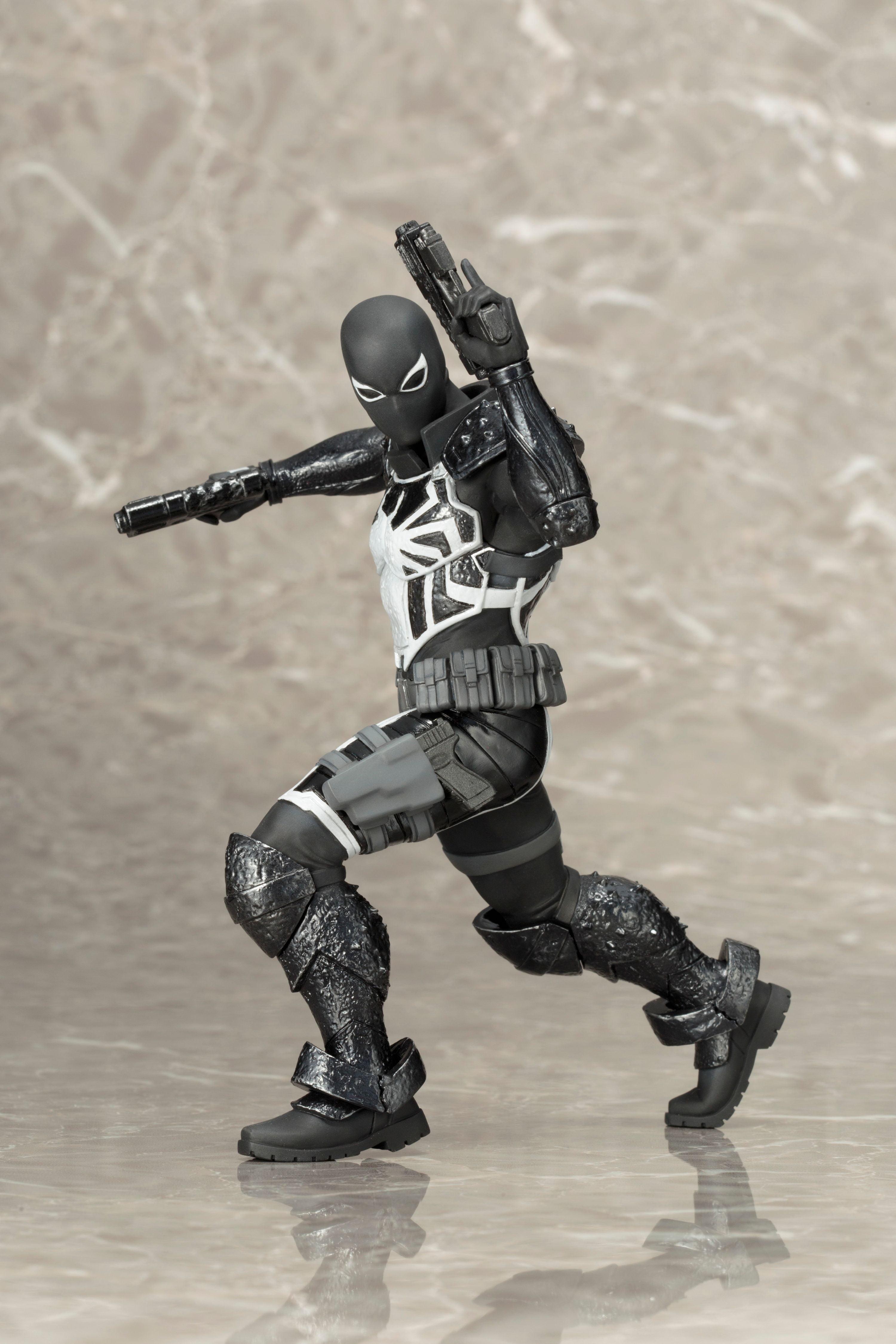 Spiderman Venom 1//10 Action Figure Marvel Toy Figurine KOTOBUKIYA ARTFX No Box