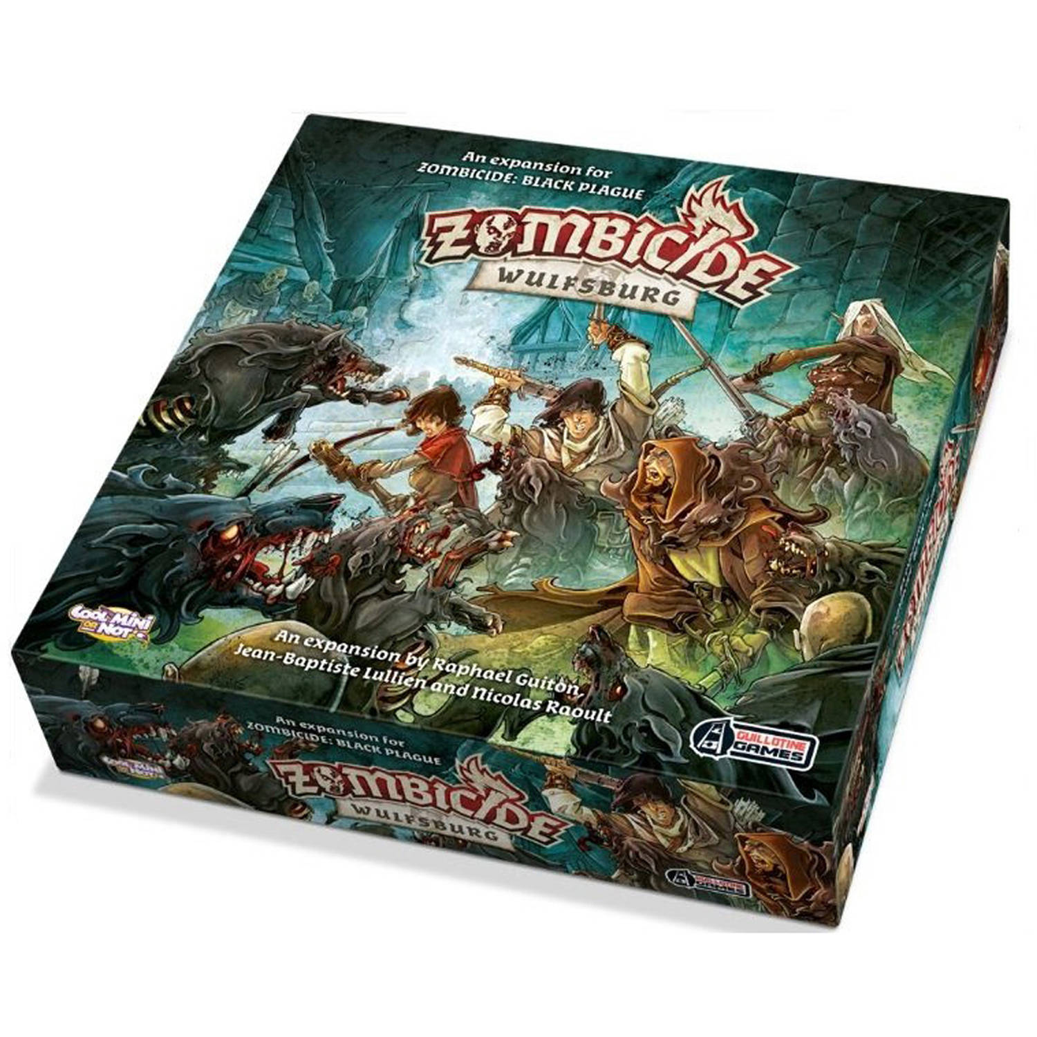 CMON Inc. Zombicide: Black Plague, Wulfsburg Expansion Board Game by Cmon Inc.