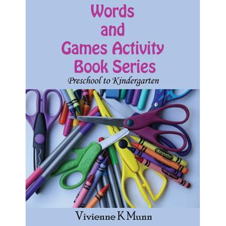 Words and Games Activity Book Series : Preschool to Kindergarten - Halloween Games Kindergarten Online