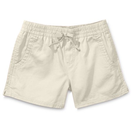 Faded Glory - Girls' Elastic-Waist Shorts - Walmart.com