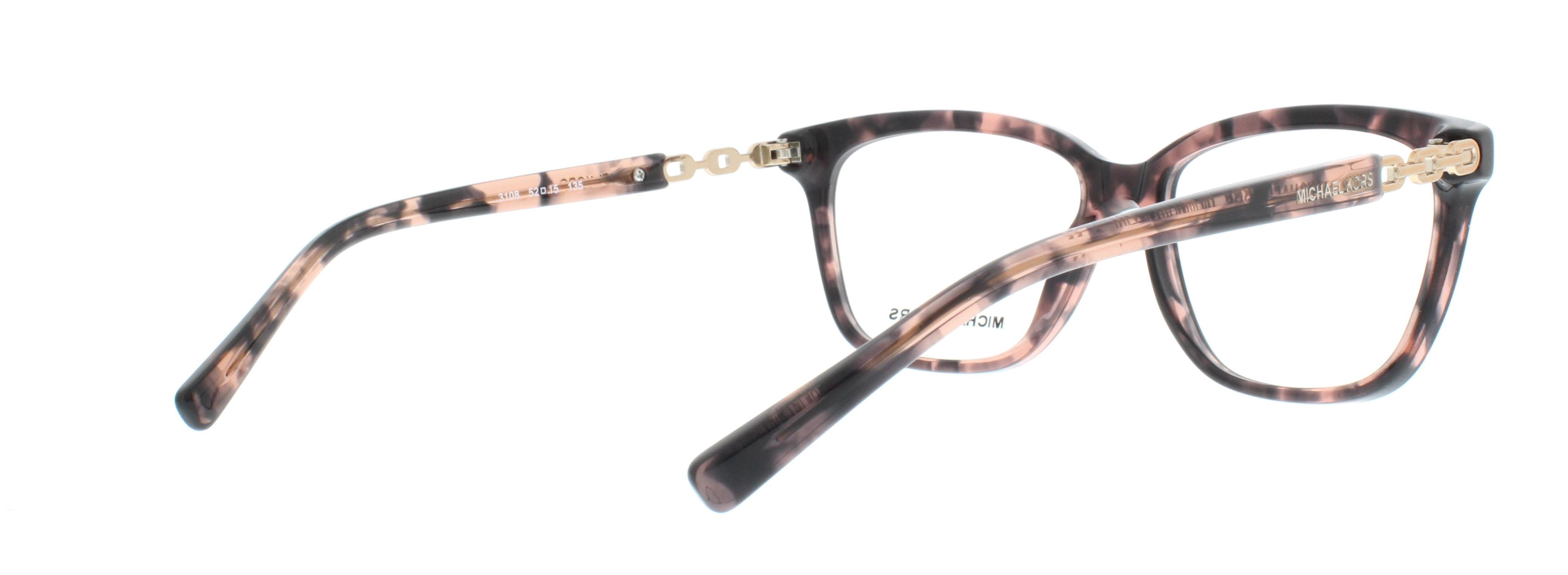 a31f2dc7713 MICHAEL KORS Eyeglasses MK 8018 3108 Pink Tortoise Rose Gold 52MM -  Walmart.com
