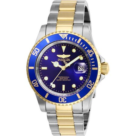 Invicta Men's Pro Diver Two-Tone Blue Dial 40 mm Watch -