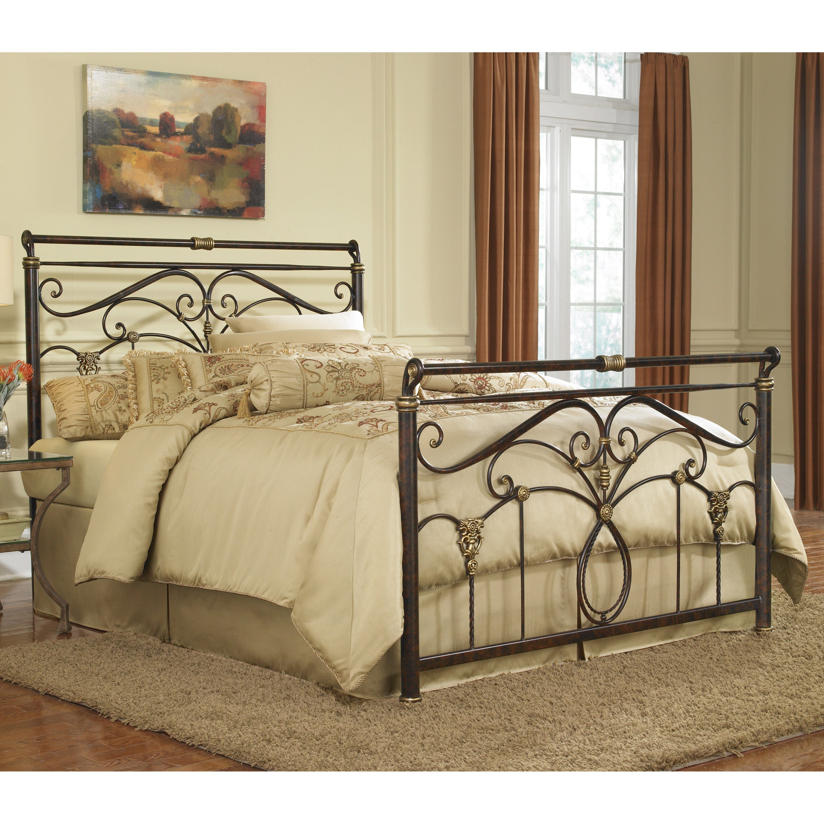Fashion Bed Group Lucinda Sleigh Bed by Fashion Bed Group