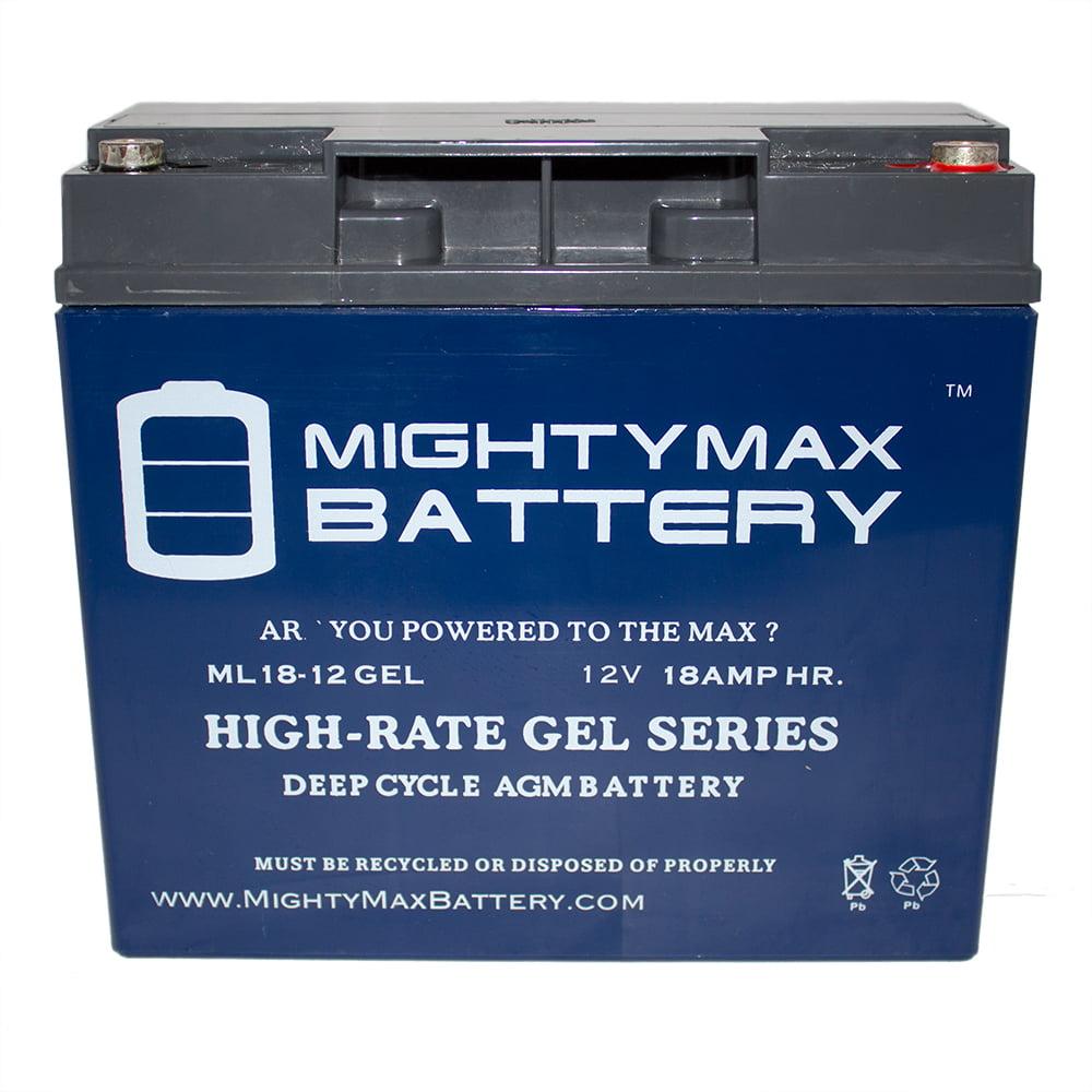 12V 18AH GEL Battery for Drive Medical PHOENIXHD4 Phoenix