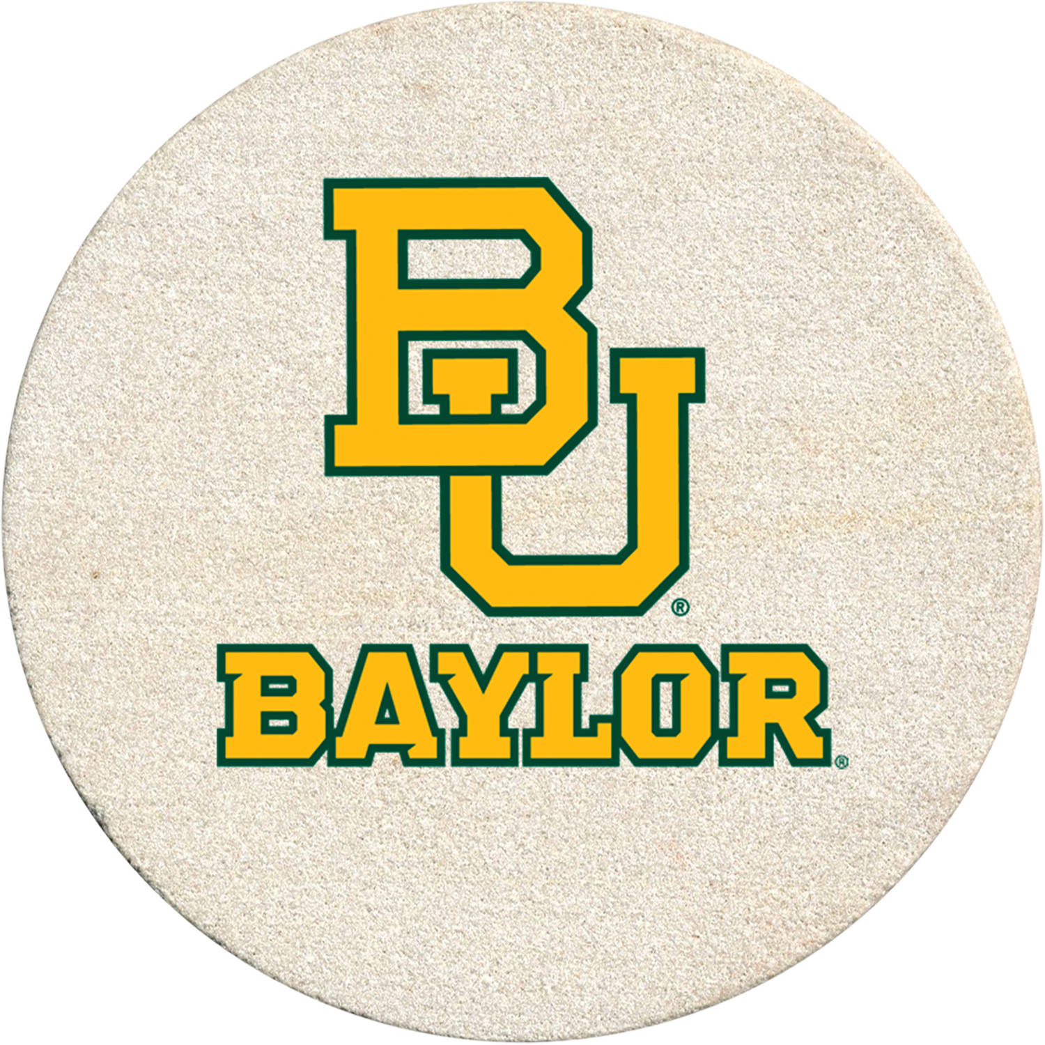 Thirstystone Drink Coaster Set, Baylor University