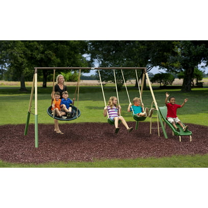 XDP Recreation Super Disc Swing Metal Swing Set