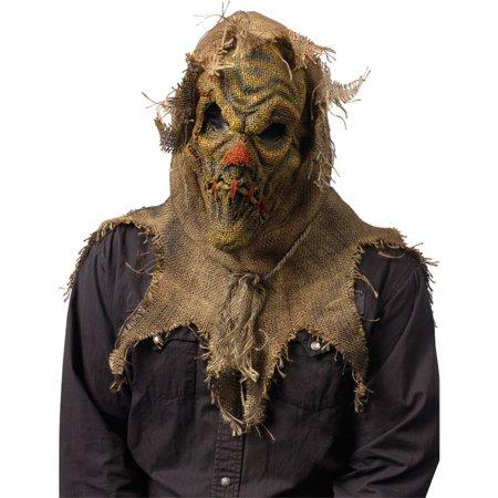 Morris Costumes Scarecrow Mask Natural Halloween Costume - Halloween Natural History Museum