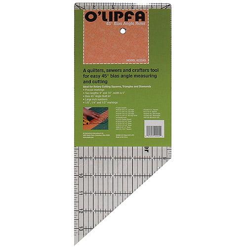 O'Lipfa 45-Degree Angle Ruler