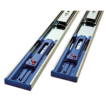 Liberty Hardware 942205 22 Inch Soft-Close Full Extension Ball Bearing Drawer Slides (Full Set for One
