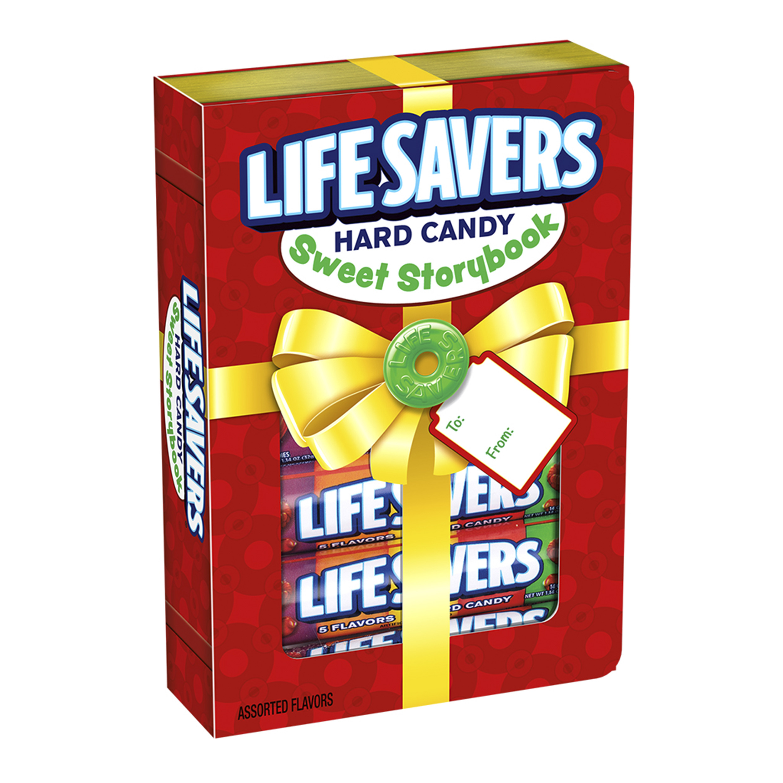 (3 Pack) Life Savers 5 Flavors Sweet Storybook Gift Box (6 Rolls of Candies)