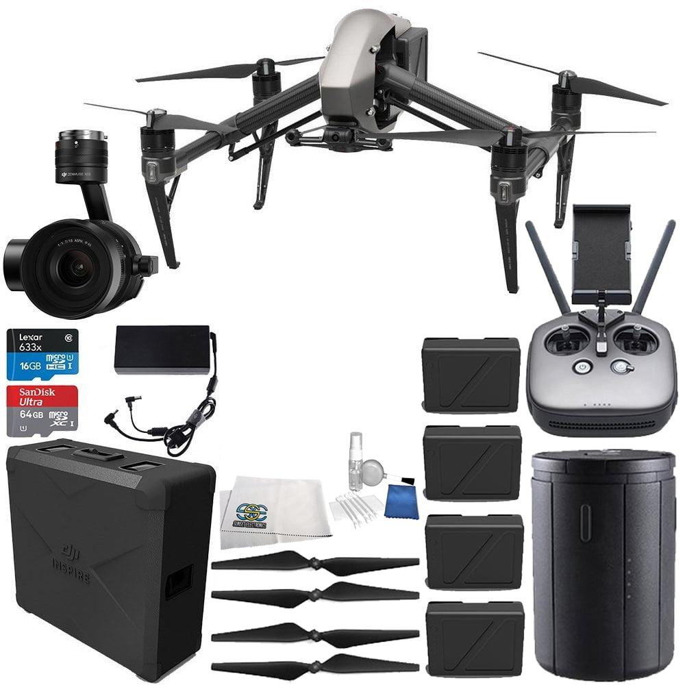 DJI Inspire 2 Quadcopter + Zenmuse X5S Ultimate Bundle