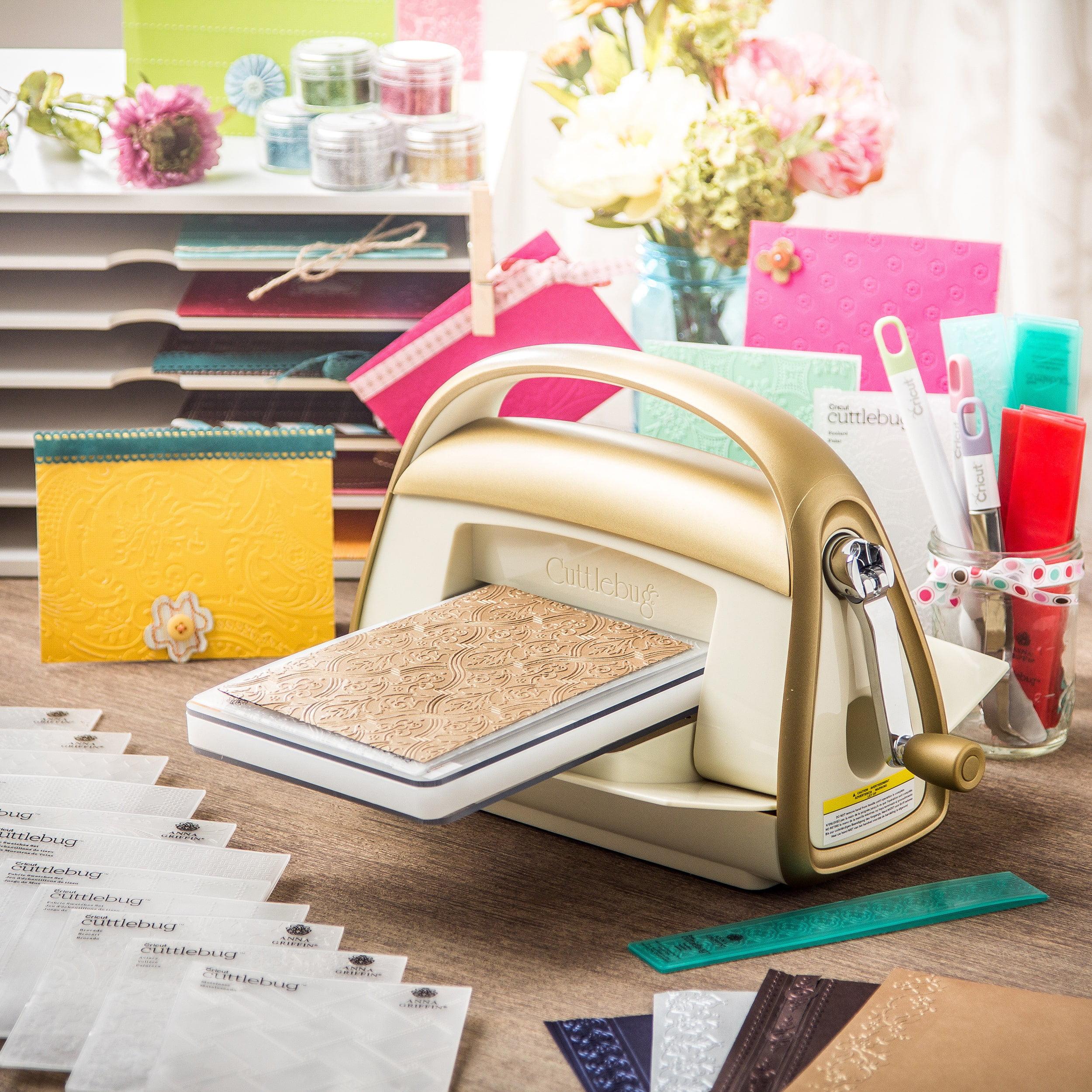 Cricut Anna Griffin Cuttlebug Machine With 14 Bonus Folders Com