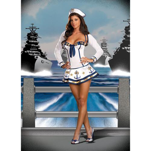 Sexy Sailor Makin' Waves Costume Adult (Sexy Costumes)